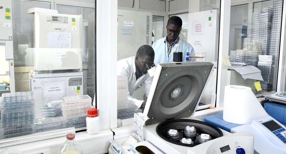Des chercheurs de l'institut Pasteur de Dakar travaillent sur le coronavirus.