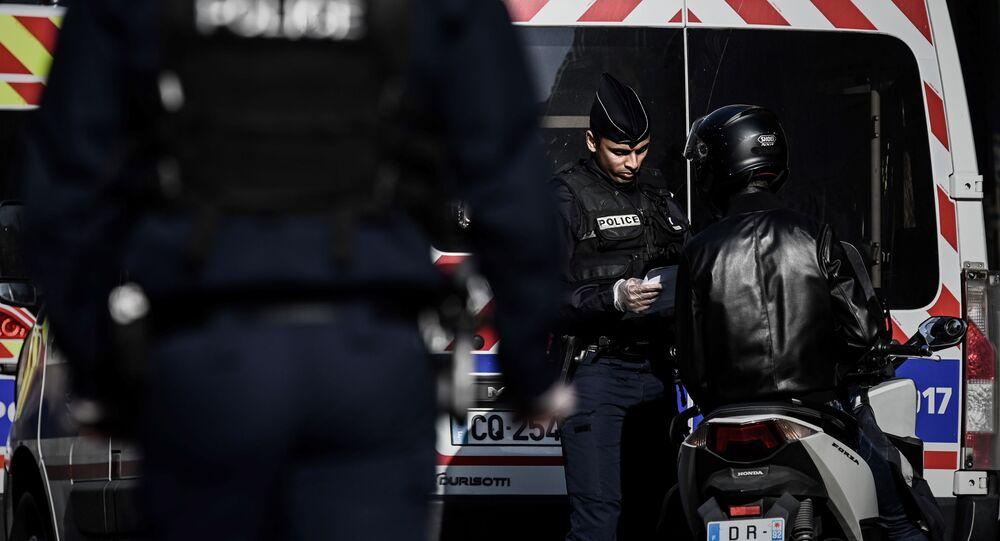 Covid-19 : contrôle de Police