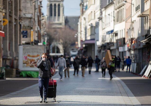 Seine-Saint-Denis le 18 mars 2020