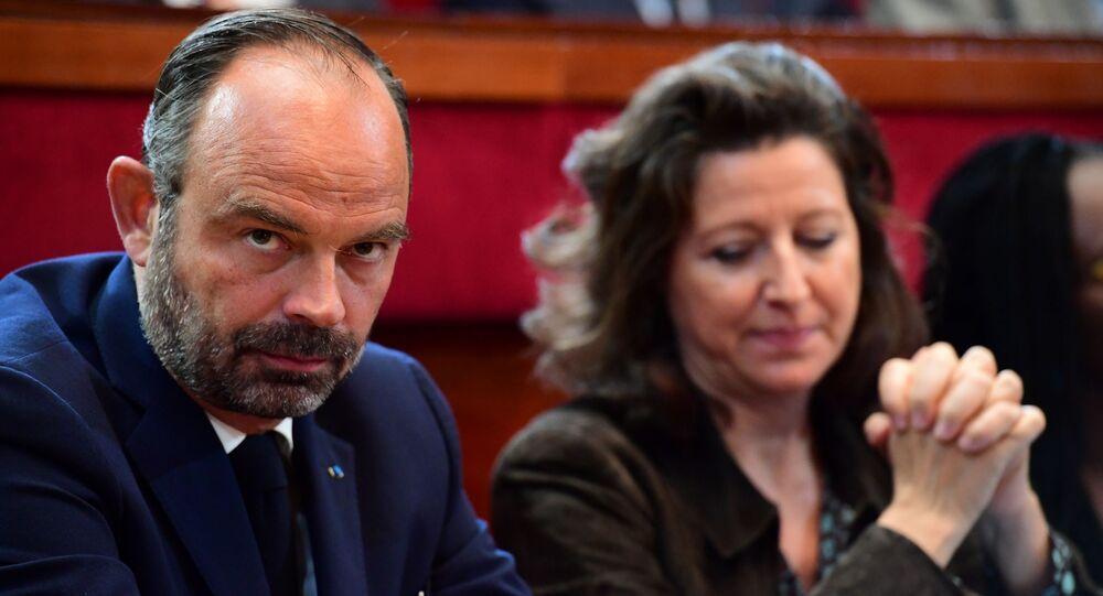 Edouard Philippe et Agnès Buzyn sur les bancs de l'Assemblée nationale.