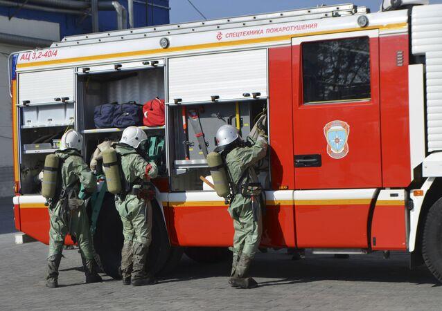 Sapeurs-pompiers russes
