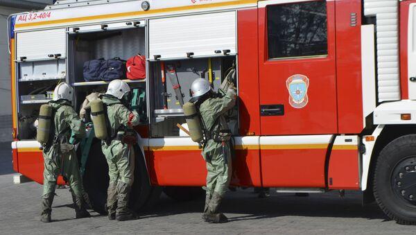 Sapeurs-pompiers russes - Sputnik France