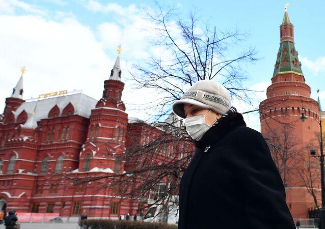 Moscou pendant la pandémie de coronavirus