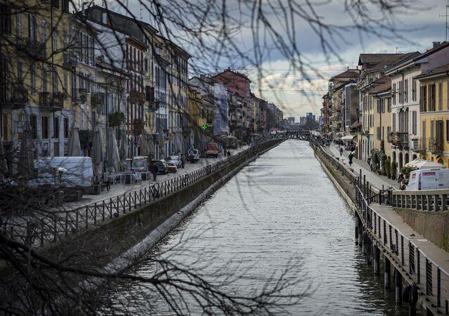 Milan lors de l'épidémie de coronavirus