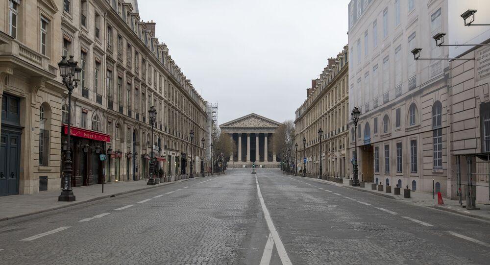 Paris lors de l'épidémie de coronavirus