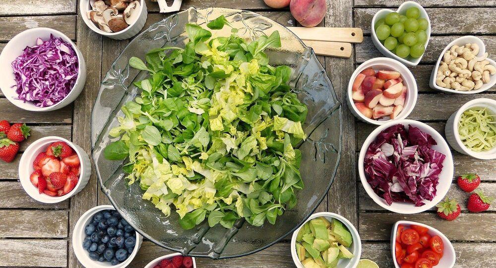 Fruits, légumes et baies, image d'illustration