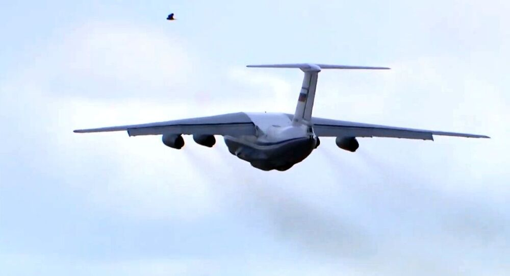 Un avion Iliouchine Il-76