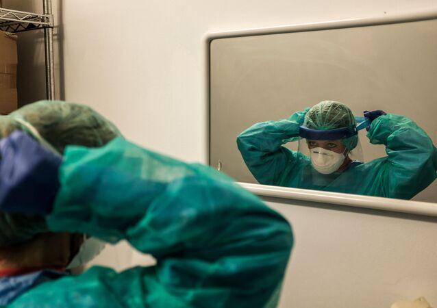 Une infirmière en Italie