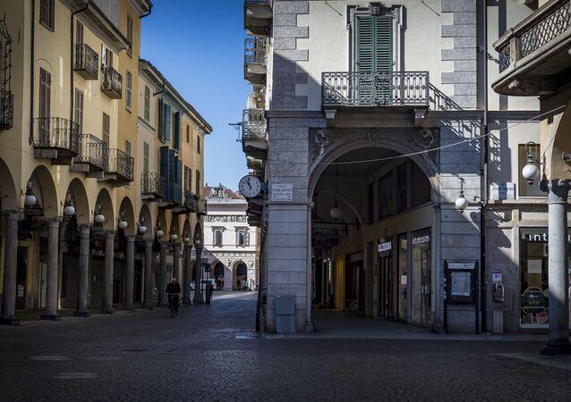 La ville italienne de Novare