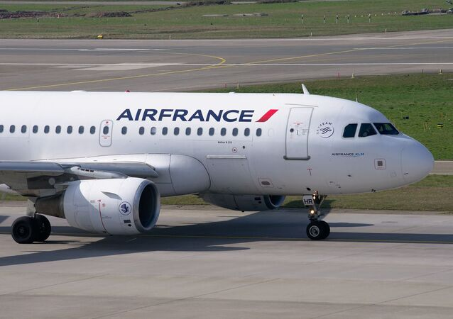 un avion d'Air France, image d'illustration