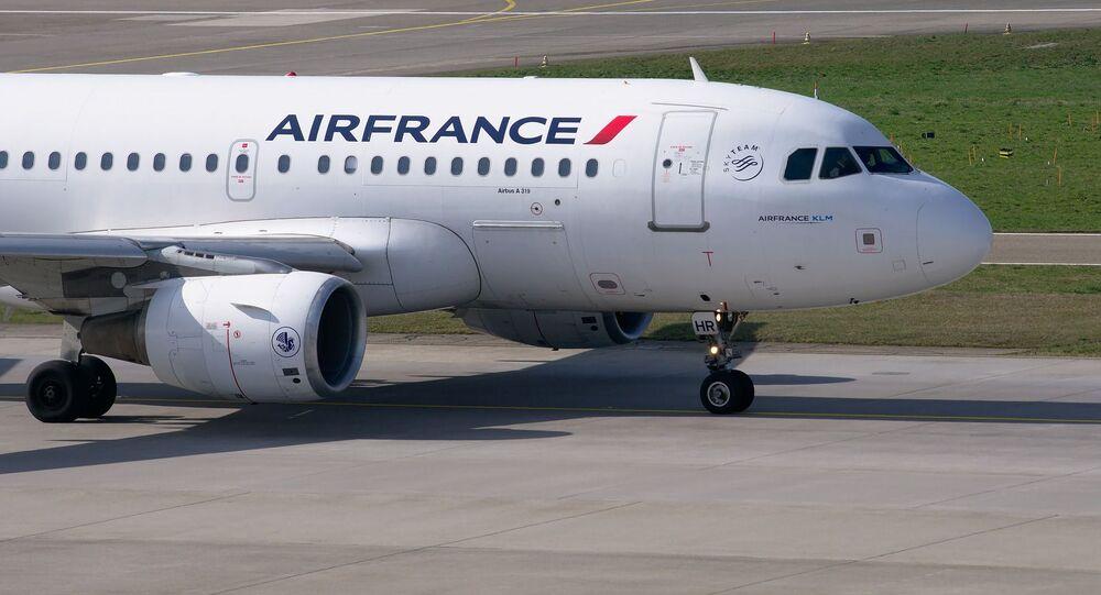 un avion d'Air France, image d'illustration