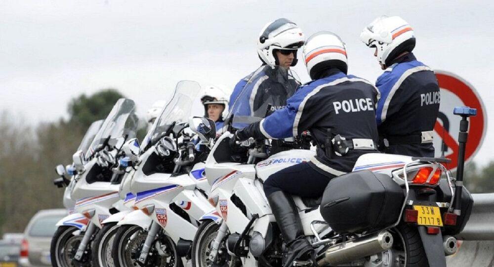 Motards de la police nationale