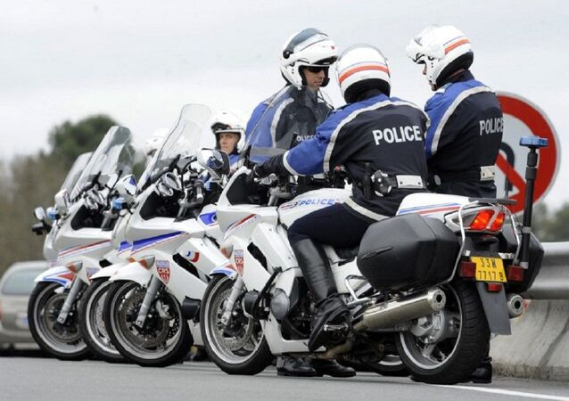 Motards de la police nationale
