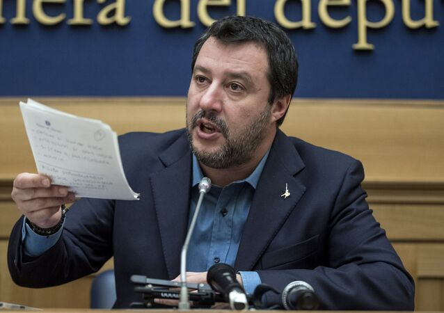 Matteo Salvini (photo d'archives)