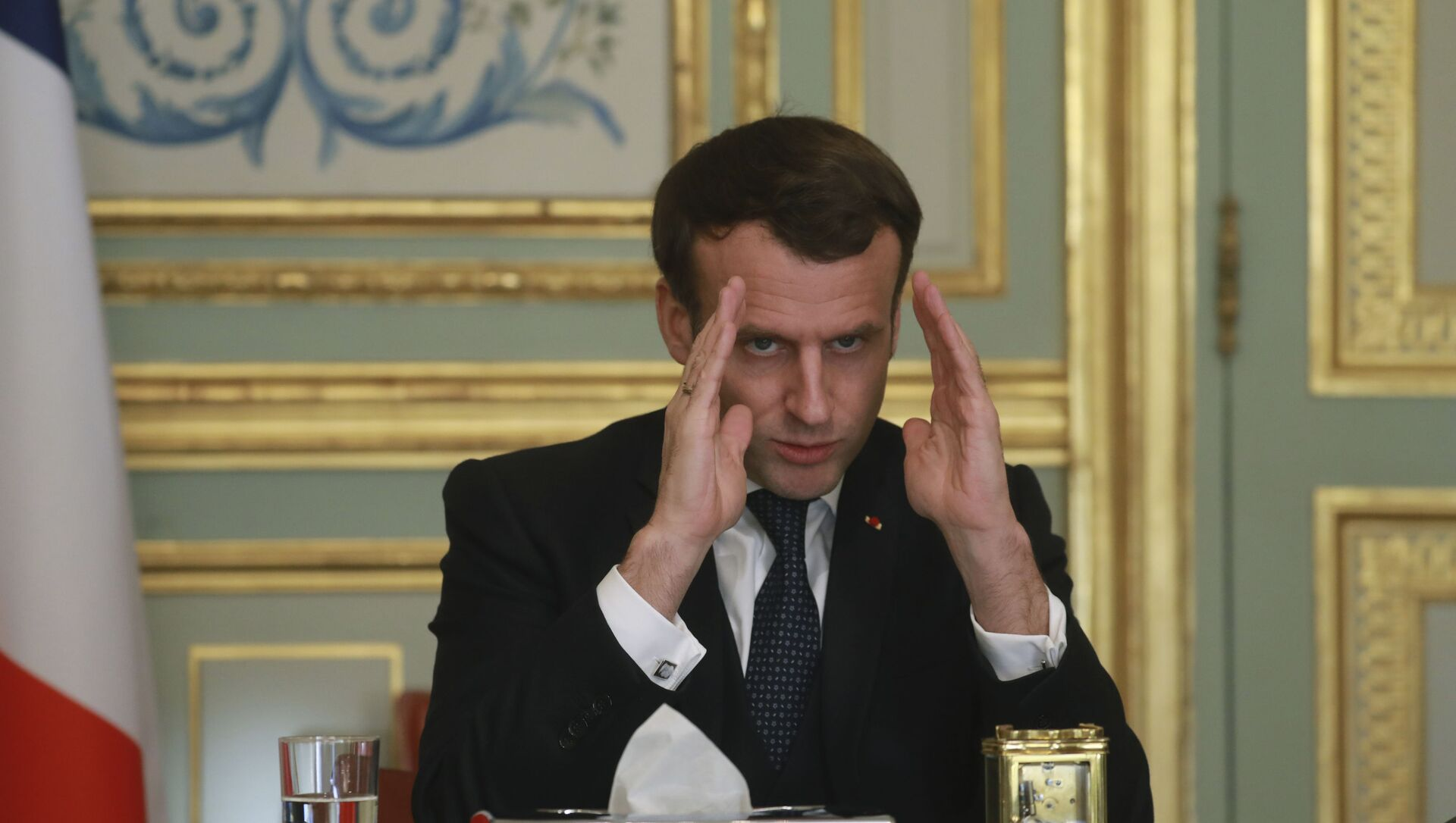 Emmanuel Macron, archives - Sputnik France, 1920, 05.02.2021
