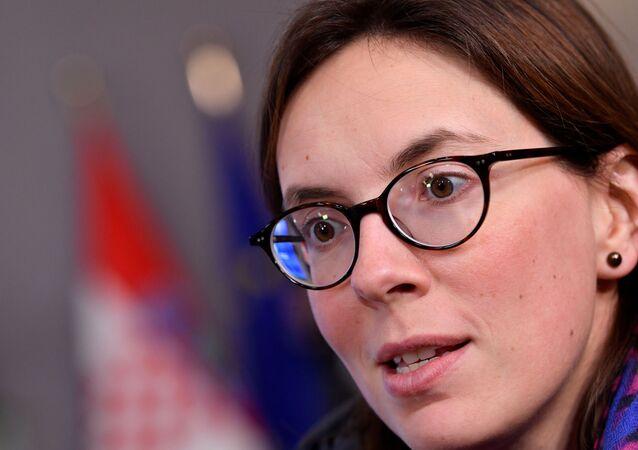 La secrétaire d'État aux Affaires européennes Amélie de Montchalin