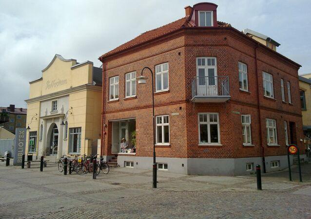 La ville d'Eslov, en Suède