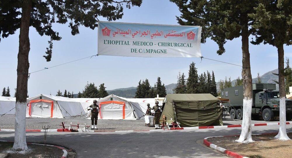 Le 52 régiment de la Santé militaire à Bouira