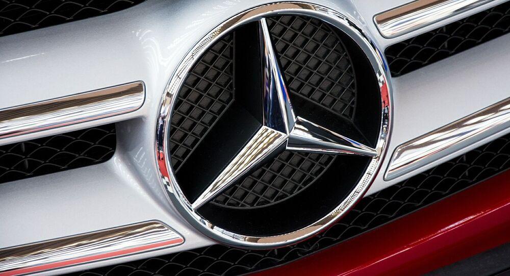 Mercedes-Logo (Symbolbild)
