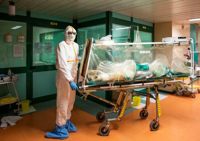 Un malade du coronavirus