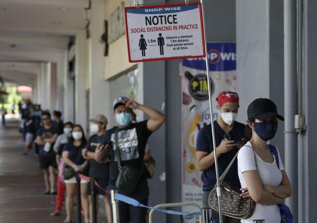 Situation aux Philippines avec le coronavirus
