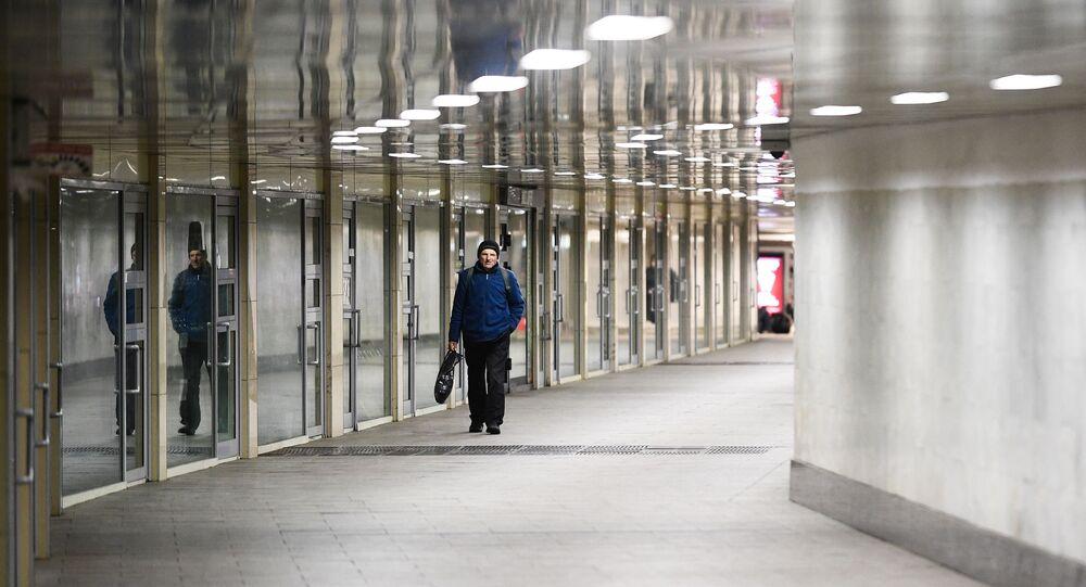 Moscou lors du confinement