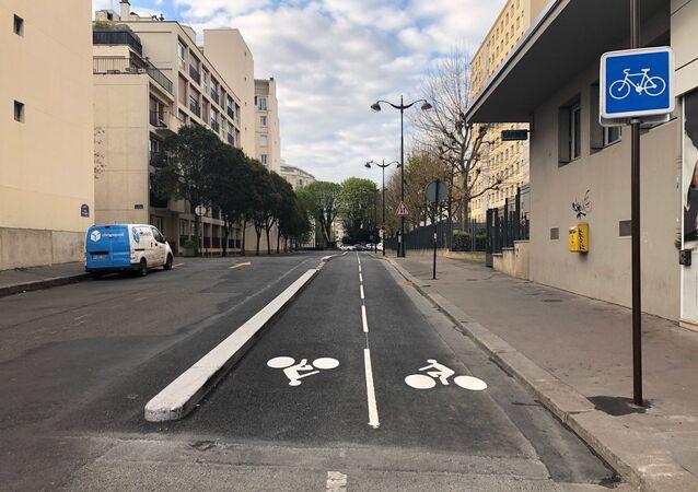 Paris désert à l'heure du confinement