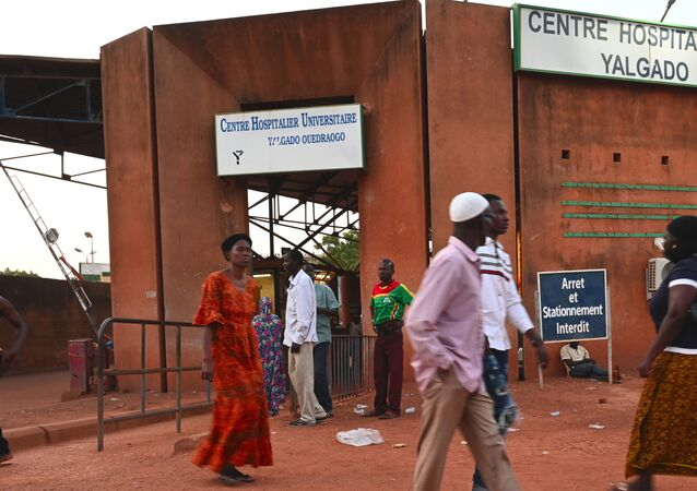 L'hôpital universitaire de Ouagadougou, Burkina Faso