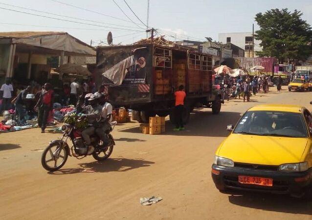 Le marché de Mokolo à Yaoundé.