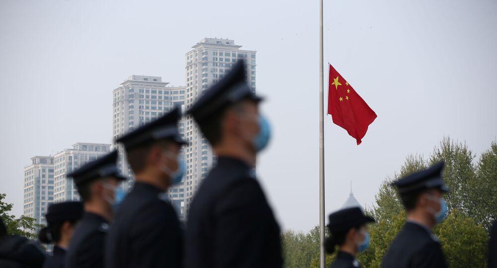 La Chine a rendu hommage à ses victimes du coronavirus, 4 avril 2020