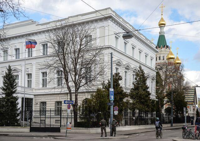 L'ambassade russe à Vienne