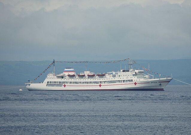 Navire-hôpital russe Irtych