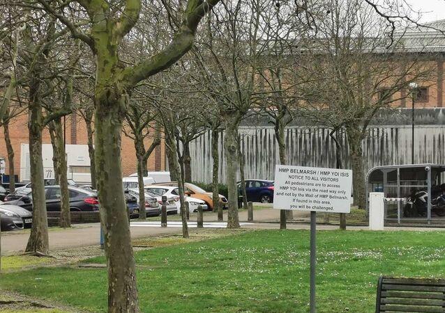 Prison Belmarsh à Londres