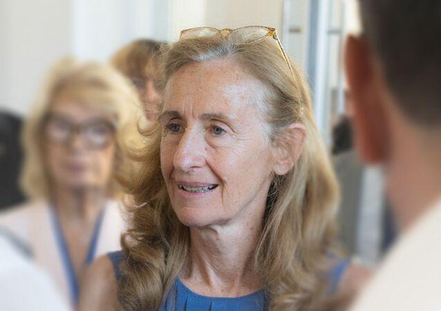 Photographie portrait de Nicole Belloubet le 26 juin 2019 à Poitiers, France