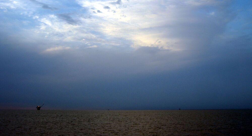 La baie de Mobile, dans l'Alabama