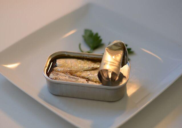 Des sardines à l'huile