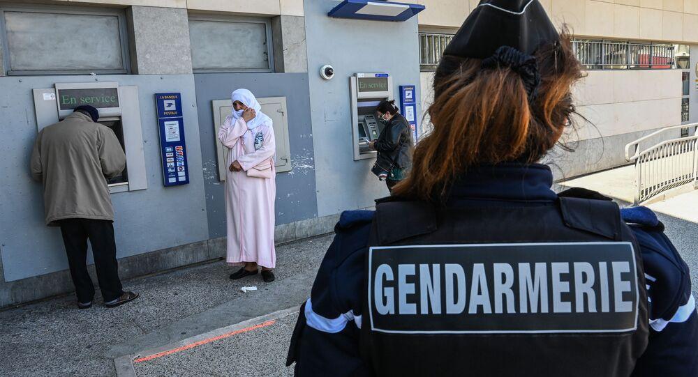 Une gendarmerie