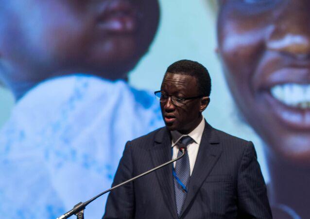 Le ministre des Affaires étrangères et des Sénégalais de l'extérieur sénégalais Amadou Bâ.
