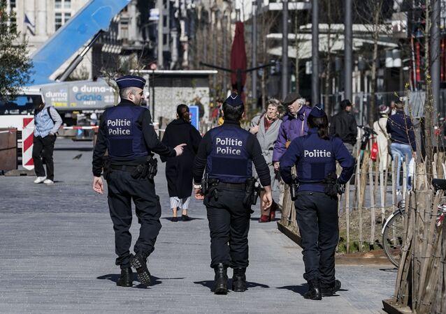 Police en Belgique (image d'illustration)
