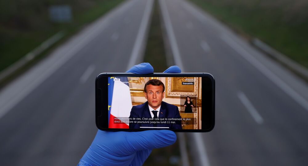 Emmanuel Macron s'adresse à la Nation, 13 avril 2020