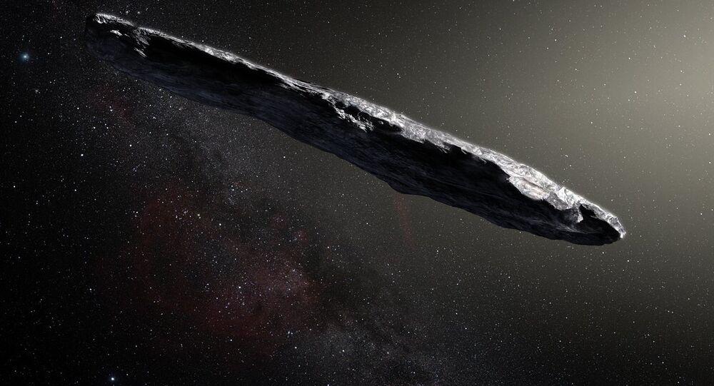 L'astéroïde interstellaire 'Oumuamua, image d'illustration