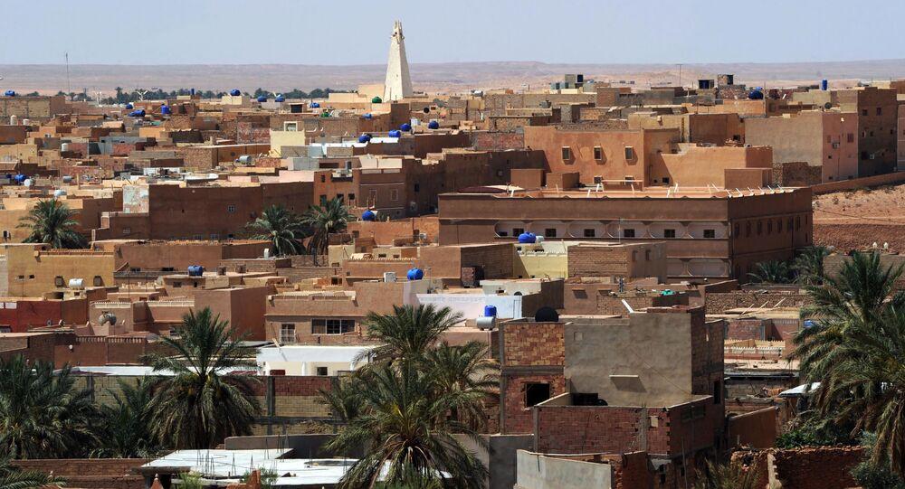 La ville de Guerara, dans la vallée du M'Zab, en Algérie