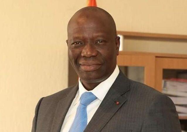 Le ministre de l'Économie numérique et de la Poste Mamadou Sanogo