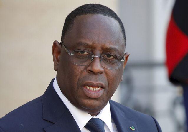 Le Président du Sénégal Macky Sall.