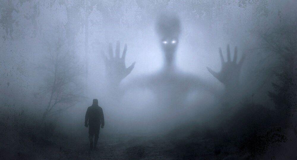 Un fantôme, image d'illustration
