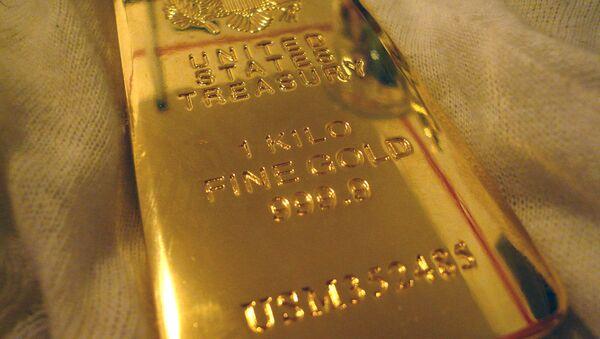 Un lingot d'or (archive photo) - Sputnik France