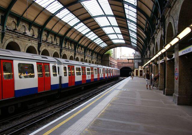 La station Notting Hill Gate du métro londonien (archive photo)