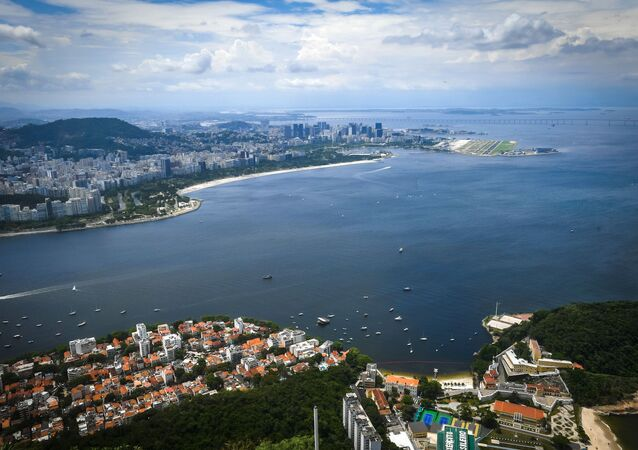 Vue de la baie de Guanabara