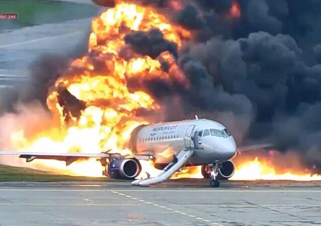 Crash du Sukhoi Superjet de la compagnie russe Aeroflot à Moscou, 5 mai 2019