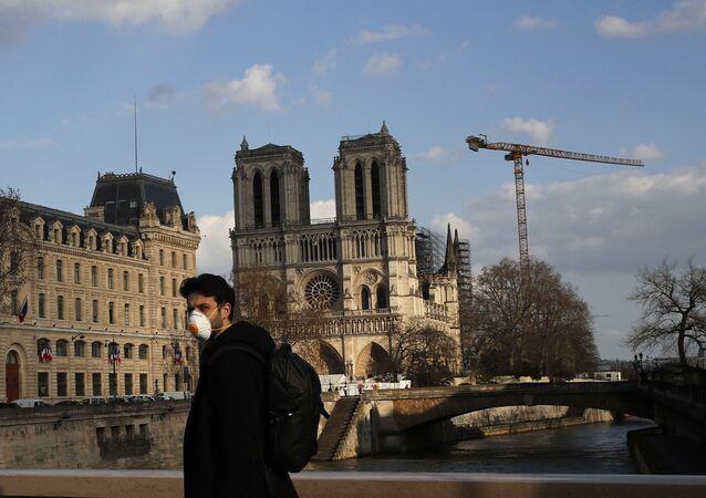 Notre-Dame de Paris pendant la pandémie de Covid-19